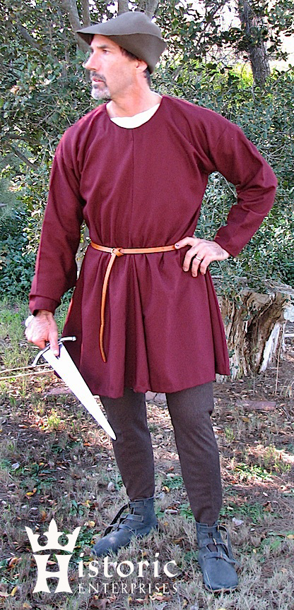 Tunic, Bocksten, Wool, MADE TO ORDER